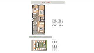 Rymlig fastighet lämplig för familjeliv i Esenyurt Istanbul, Planritningar-1