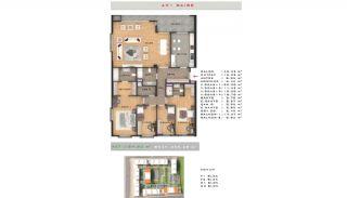 Rymlig fastighet lämplig för familjeliv i Esenyurt Istanbul, Planritningar-5