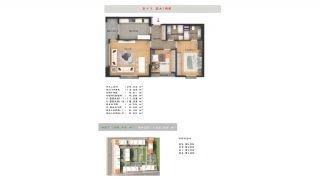 Rymlig fastighet lämplig för familjeliv i Esenyurt Istanbul, Planritningar-6