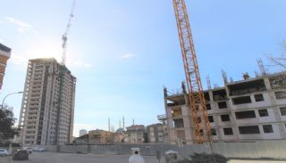 Investment Apartments in Complex with Rich Facilities in Istanbul, Construction Photos-1