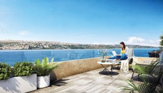 Недвижимость с Видом на Море в Комплексе в Бююкчекмедже, Стамбул, Стамбул / Бююкчекмедже - video