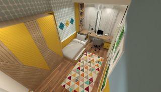 Недвижимость с Видом на Море в Комплексе в Бююкчекмедже, Стамбул, Фотографии комнат-17