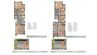 Sea View Properties in a Complex in Büyükçekmece Istanbul, Property Plans-11