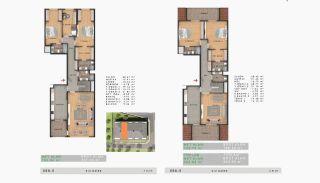 Sea View Properties in a Complex in Büyükçekmece Istanbul, Property Plans-12