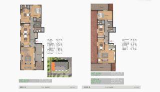 Sea View Properties in a Complex in Büyükçekmece Istanbul, Property Plans-13