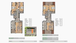 Sea View Properties in a Complex in Büyükçekmece Istanbul, Property Plans-14