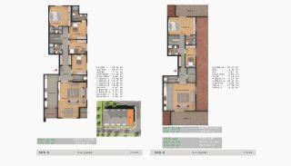 Sea View Properties in a Complex in Büyükçekmece Istanbul, Property Plans-16