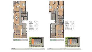 Sea View Properties in a Complex in Büyükçekmece Istanbul, Property Plans-17