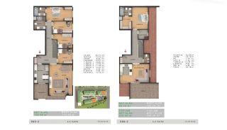 Sea View Properties in a Complex in Büyükçekmece Istanbul, Property Plans-5