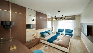 Appartementen aan de zich snelst ontwikkelende straat in Küçükçekmece, Interieur Foto-1