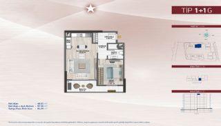 Appartementen aan de zich snelst ontwikkelende straat in Küçükçekmece, Vloer Plannen-2