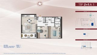 Apartments on the Fastest-Developing Street in Küçükçekmece, Property Plans-3