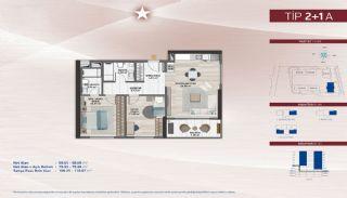 Apartments on the Fastest-Developing Street in Küçükçekmece, Property Plans-4