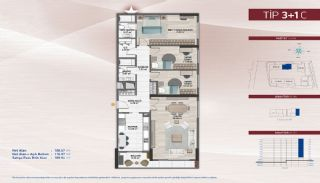Apartments on the Fastest-Developing Street in Küçükçekmece, Property Plans-10