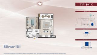 Apartments on the Fastest-Developing Street in Küçükçekmece, Property Plans-13
