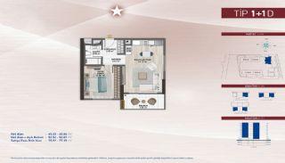 Apartments on the Fastest-Developing Street in Küçükçekmece, Property Plans-15