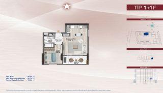 Appartementen aan de zich snelst ontwikkelende straat in Küçükçekmece, Vloer Plannen-18