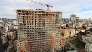 Lägenheter för havs- och ösikt i ett lyxigt komplex i Istanbul, Byggbilder-1