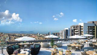 Lägenheter för havs- och ösikt i ett lyxigt komplex i Istanbul, Istanbul / Kartal - video