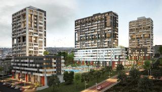 Lägenheter för havs- och ösikt i ett lyxigt komplex i Istanbul, Istanbul / Kartal