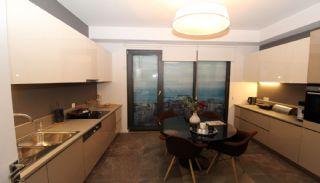 Lägenheter för havs- och ösikt i ett lyxigt komplex i Istanbul, Interiör bilder-17