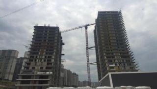 Familjeorienterade lägenheter till salu i Esenyurt İstanbul, Byggbilder-1