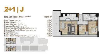 Familie Orientierte Wohnungen zum Verkauf in Esenyurt İstanbul, Immobilienplaene-2