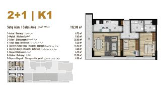 Familie Orientierte Wohnungen zum Verkauf in Esenyurt İstanbul, Immobilienplaene-3