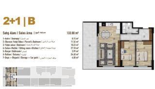 Familie Orientierte Wohnungen zum Verkauf in Esenyurt İstanbul, Immobilienplaene-4