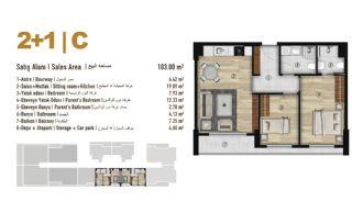 Familie Orientierte Wohnungen zum Verkauf in Esenyurt İstanbul, Immobilienplaene-6