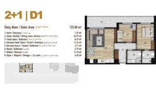 Familie Orientierte Wohnungen zum Verkauf in Esenyurt İstanbul, Immobilienplaene-7