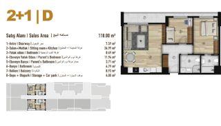 Familie Orientierte Wohnungen zum Verkauf in Esenyurt İstanbul, Immobilienplaene-8