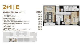 Familie Orientierte Wohnungen zum Verkauf in Esenyurt İstanbul, Immobilienplaene-9