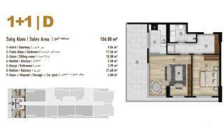 Familie Orientierte Wohnungen zum Verkauf in Esenyurt İstanbul, Immobilienplaene-16