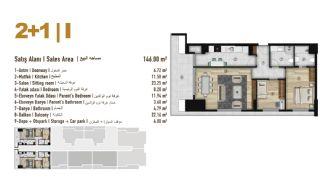 Элитные Квартиры Семейного Типа в Эсеньюрте, Стамбул, Планировка -20