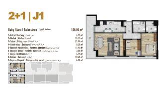 Familie Orientierte Wohnungen zum Verkauf in Esenyurt İstanbul, Immobilienplaene-21