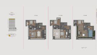 Элитная Недвижимость с Отельной Инфраструктурой в Стамбуле, Планировка -1