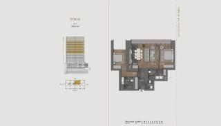 Элитная Недвижимость с Отельной Инфраструктурой в Стамбуле, Планировка -2