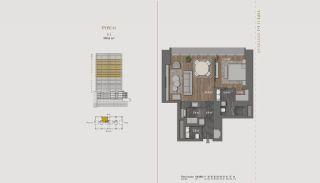 Элитная Недвижимость с Отельной Инфраструктурой в Стамбуле, Планировка -3