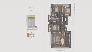 Элитная Недвижимость с Отельной Инфраструктурой в Стамбуле, Планировка -5