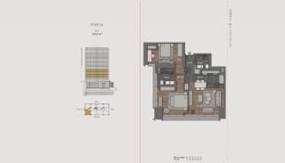 Элитная Недвижимость с Отельной Инфраструктурой в Стамбуле, Планировка -7