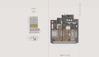 Элитная Недвижимость с Отельной Инфраструктурой в Стамбуле, Планировка -9