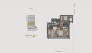Элитная Недвижимость с Отельной Инфраструктурой в Стамбуле, Планировка -10
