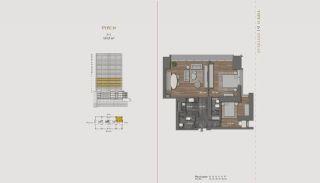 Элитная Недвижимость с Отельной Инфраструктурой в Стамбуле, Планировка -11
