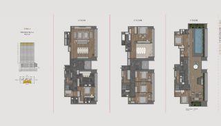 Элитная Недвижимость с Отельной Инфраструктурой в Стамбуле, Планировка -12