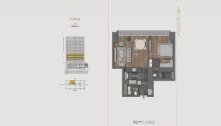 Элитная Недвижимость с Отельной Инфраструктурой в Стамбуле, Планировка -14