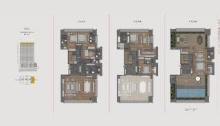 Элитная Недвижимость с Отельной Инфраструктурой в Стамбуле, Планировка -16