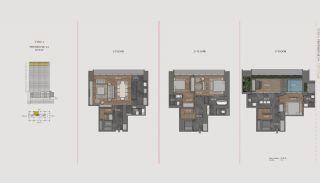 Элитная Недвижимость с Отельной Инфраструктурой в Стамбуле, Планировка -18