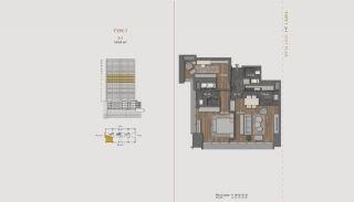 Элитная Недвижимость с Отельной Инфраструктурой в Стамбуле, Планировка -20