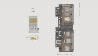 Элитная Недвижимость с Отельной Инфраструктурой в Стамбуле, Планировка -21